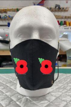 Poppy Face Mask